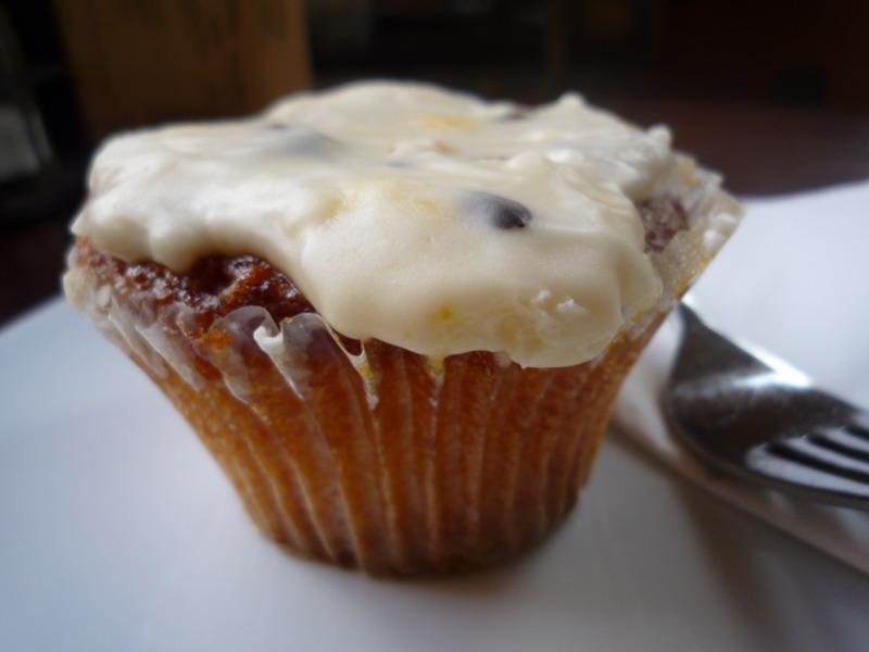 Passionfruit cupcake