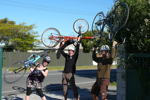 Bicycles in Blenheim, New Zealand