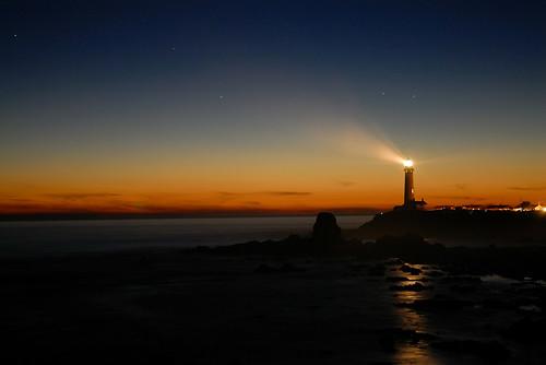 Pigeon Point Lighthouse by mischiru