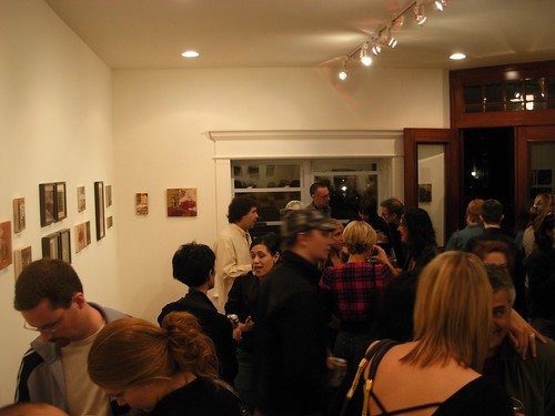 Opening night, Proximity Gallery