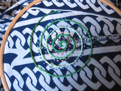 spiral on patch