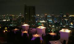 Romantic evening (Puykamo@Tai) Tags: lighting light building beautiful night dinner thailand evening bangkok fave thai romantic lovely bkk puykamo puykamophotos