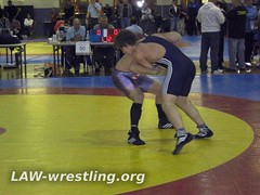 Controlling with a front head lock