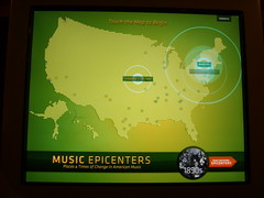 GRAMMY Museum - Individual Touch Screen for Music Epicenter