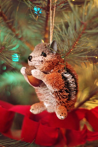 Christmas chipmunk.