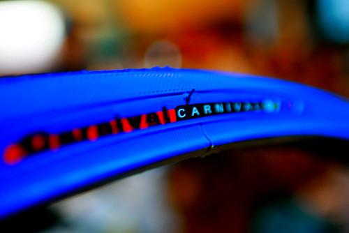 carnival Blue tire