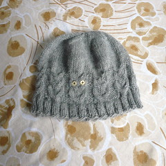 383c3eec361 It s a hat with owls! Yay!