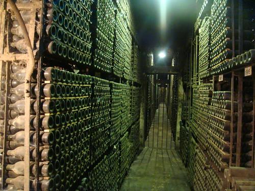 La Catedral - Zona de almacenamiento de los vinos más longevos - Corazón e la Bodega