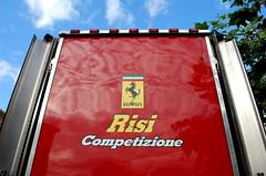 Risi Competizione Truck (ngel lvarez) Tags: red sky car truck texas village houston f1 ferrari highland 2008 micheal challenge risi 18wheeler f355 fxx shumacher evoluzione competizione