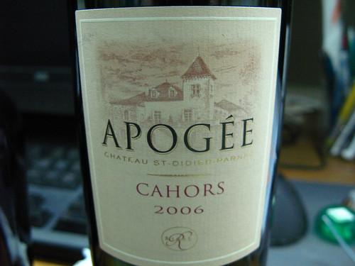 APOGEE CAHORS 2006