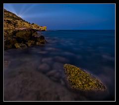 Rayos del Faro (Ins Gil H) Tags: noche paisaje largaexposicin paisajenocturno