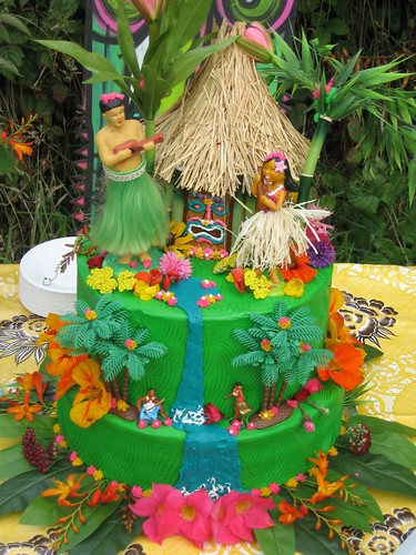 Our Badass Tiki Cake by Velma's World.