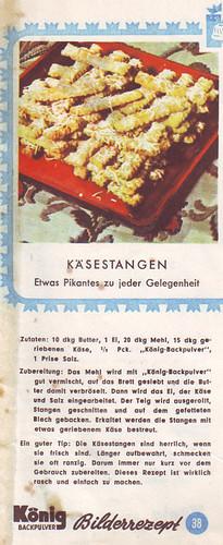 König Bilderrezept: Käsestangen