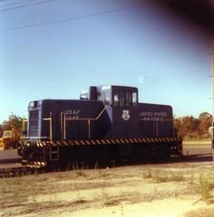 44 ton switcher, Otis afb 1977 (brian.m.rule241) Tags: industrial otis air central guard national penn afb switcher csx conrail 1245 44ton