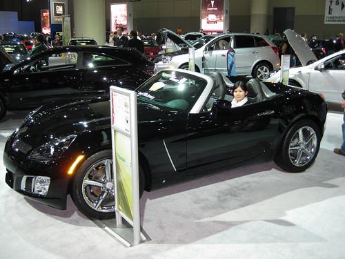 Pontiac G6 2009 Convertible. a Pontiac G6 Convertible
