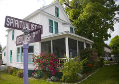 The intersection of Spiritualist St and Mediumship Way