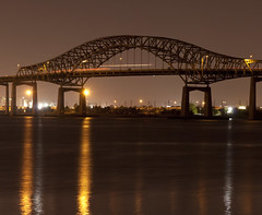Casciano ( estatik ) Tags: new bridge panorama night bay long exposure nj jersey newark bayonne casciano turpike