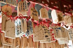May your wish come true... (idashum) Tags: china landscape temple nikon bokeh buddhist prayer religion pray chinese buddhism wishes wish nanjing ida buddhisttemple shum placeofworship d300 prayerboards xuanwulake jimingtemple jimingsi mingcitywalls liangdynasty idashum idacshum