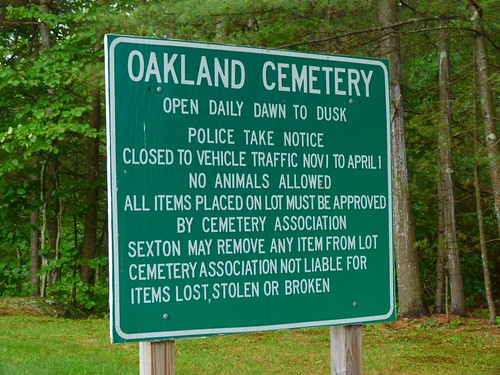 Oakland Cemetery - Meredith NH