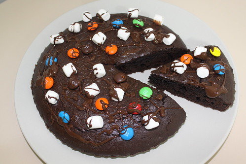 Brownie Pizaa