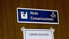 Nodo comunicaciones + compás masónico