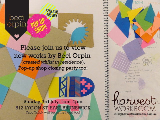 Beci's invitation