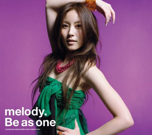 melody. Be as one COVER (CD only)