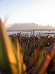 Blouberg Sunset (fuelspin) Tags: orange sun boat waves windy son capetown skip tilt shining freight tafelberg blouberg kaap branders sononder skepe golwe