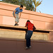 Parkour in Marrakesh