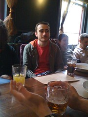 Gareth, in a pub (Tom Insam (old)) Tags: iflickr exif:missing=true
