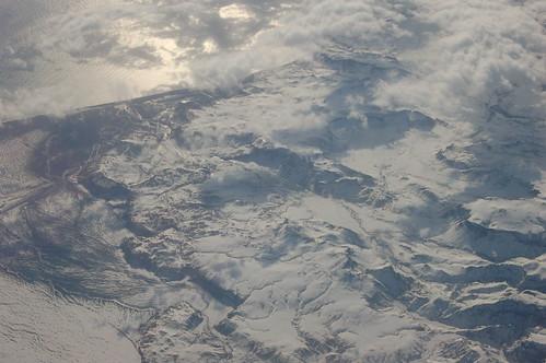 アイスランドの山々