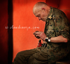 "the ""general"" (claudiaveja) Tags: old red man green photography general stock images bum romania license getty claudia concept transylvania transilvania veja gettyimages cluj invited royaltyfree rightsmanaged claudiaveja clujnapca rightmanaged"
