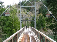 Suspension Bridge over Diablo