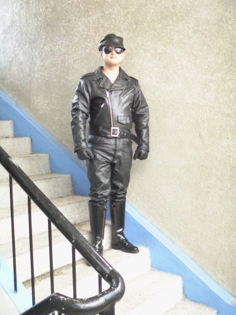 Me in full leather