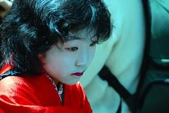 Kamuro of Kisaragi (maiko.gallery) Tags: japan kyoto maiko geiko geisha yoshiwara oiran courtesans kamuro 太夫 osode joushoujitemple yoshinotayu usugumo
