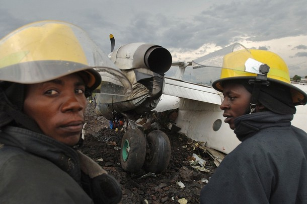DRCONGO-AVIATION-ACCIDENT