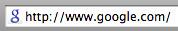 Google\'s New Blue Fav Icon