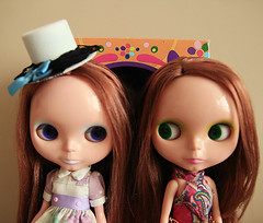 miss A & parco (pink-fairy) Tags: parco anniversary blythe miss bl ebl a