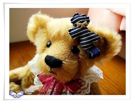 080530哈妮初登場02_頭髮上夾著Scottish House送的雪納瑞犬髮夾