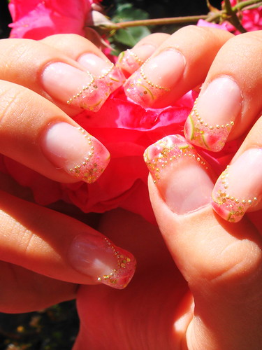 fresh and fancy summer nail art design