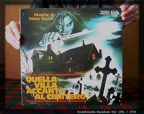 QUELLA VILLA ACCANTO AL CIMITERO (la Maison près du cimetière) (Walter RIZZATI - A.BLONKSTEINER) Horror OST LP