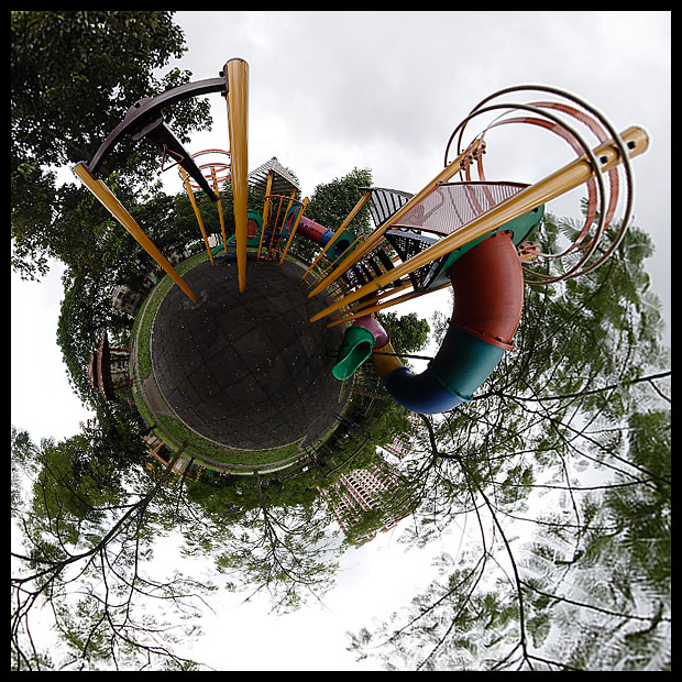 Gasing Indah Playground Little Planet
