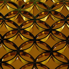 Golden circles (jmvnoos in Paris) Tags: door abstract paris france circle square grid gold golden nikon circles or porte iridescent abstraction grille d200 circular cercle abstrait doré cercles irisé jmvnoos