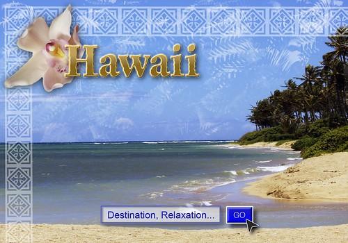 Hawaii promo poster