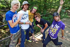 Forever The Sickest Kids (Fueled By Photography) Tags: forest photoshoot warpedtour july maryland columbia 2008 ftsk foreverthesickestkids kyleburns jonathancook austinbello kentgarrison calebturman marcstewart
