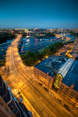 3rd Ave over Mississippi (Greg Benz Photography) Tags: blue sunset urban water minnesota yellow skyline architecture night photoshop mississippi photography benz nikon minneapolis wideangle mississippiriver twincities hdr urbanskyline stpaulskyline 3rdavenuebridge 3rdavebridge photomatix urbansunset minneapolisskyline minneapolissunset carbonsilver gregbenz gbenz photosofminneapolis twincitiesskyline twincitieshdr minneapolishdr