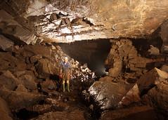 Main Streamway - Ogof Llyn Parc (dudley bug) Tags: mine limestone cave caving karst spelunking cccp northwales ogof minera caver nwcc poolpark ogofllynparc