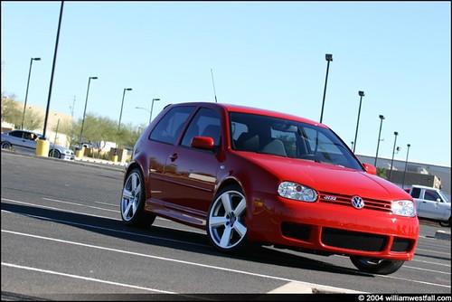 2004 golf r32 red