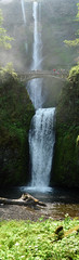 waterfalls and brdige (ksbuehler) Tags: panorama oregon portland waterfall ecotour