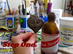 Apoxie Sculpt paper mache doll in progress (ARTerEgo) Tags: papermache decoupage apoxiesculpt artdollsculptureapoxiesculptdollpapermachedollapoxiesculpture